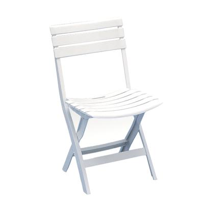 Sedia pieghevole Birki bianco