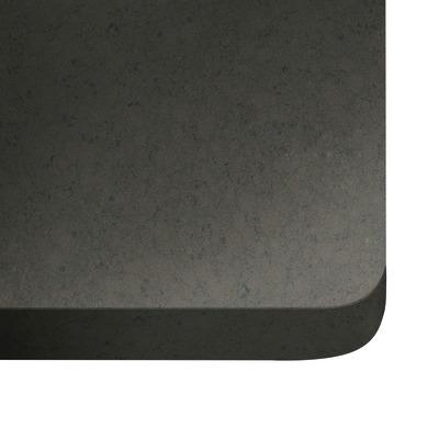 Alzatina su misura Amazon quarzo grigio scuro H 6 cm