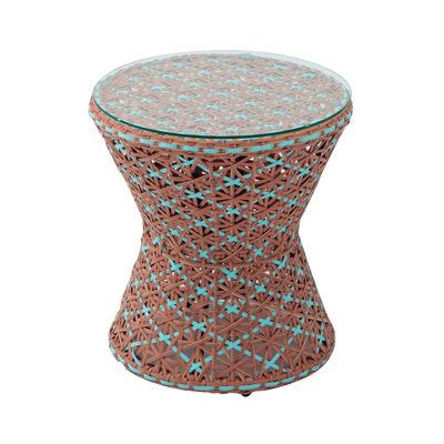 Tavolino Provence, Ø 55 cm marrone