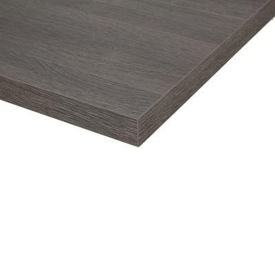 Piano cucina su misura laminato City grigio 2 cm