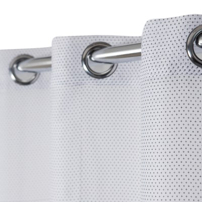 Tenda Crocky bianco e nero 140 x 260 cm
