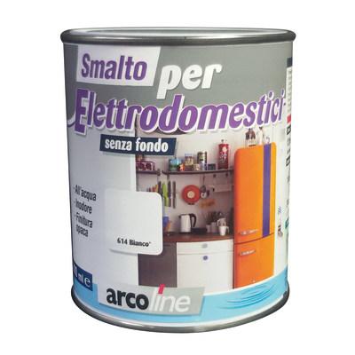 Smalto Elettrodomestici Arcoline 614 bianco opaco 0,5 L
