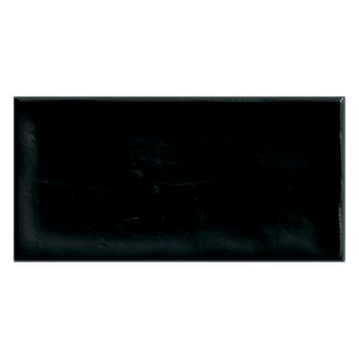 Piastrella Alfaro 7,5 x 15 cm nero