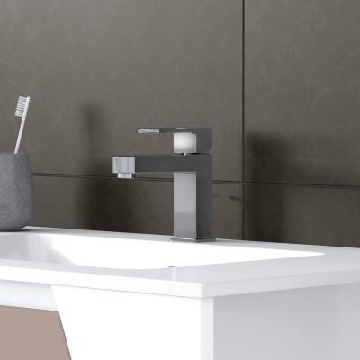 Mobile bagno Soft visone L 116,5 cm