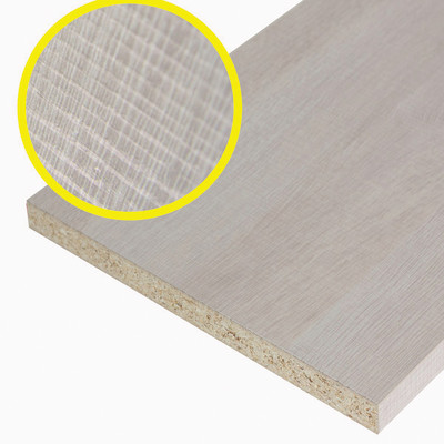 Pannello melaminico rovere chiaro 18 x 300 x 1000 mm