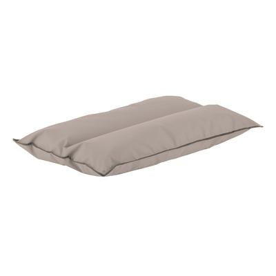 Cuscino tortora 100 x 145 cm