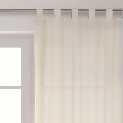 Tenda Amelie ecru 140 x 300 cm