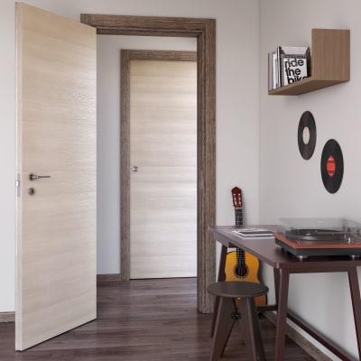Porta da interno scorrevole mixage brown grano 70 x h 210 cm reversibile prezzi e offerte online - Porta scorrevole da interno ...