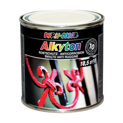 Smalto per ferro antiruggine Alkyton bianco RAL 9010 brillante 0,25 L