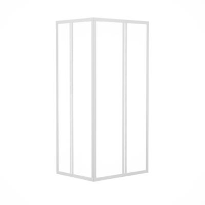Box doccia scorrevole Elba 68-78 x 79-89, H 185 cm acrilico 2 mm stampato