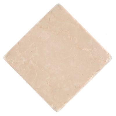 Piastrella Marmo Botticino 10 x 10 cm avorio