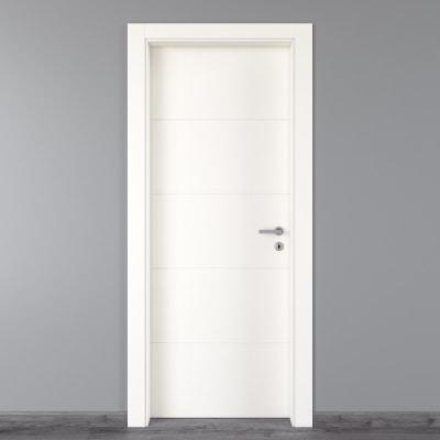 Porta da interno battente Prado bianco 70 x H 210 cm sx
