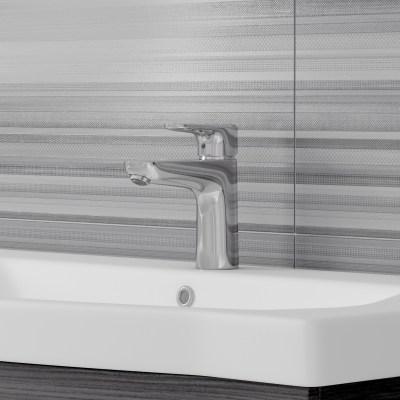 Mobile bagno Solitaire wengè L 122 cm