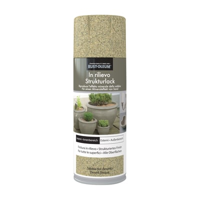 Spray effetto Rustolium sabbiato sabbia del deserto 400 ml