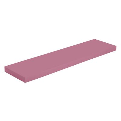 Mensola Spaceo rosa L 90 x P 23,5, sp 3,8 cm