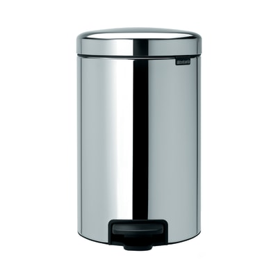 Pattumiera Pedal Bin New Icon 12 L grigio