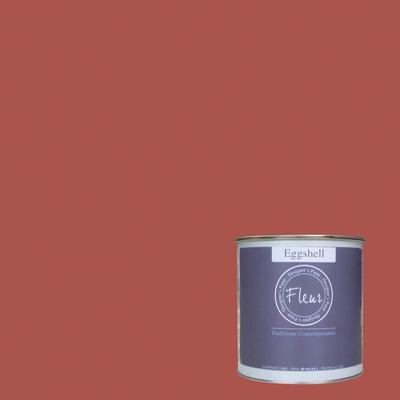 Smalto manounica Fleur Eggshell all'acqua cherry lips satinato 0.75 L