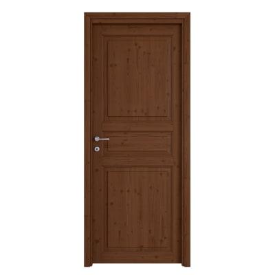 Porta da interno battente Beethoven brown chocolate 80 x H 210 cm reversibile