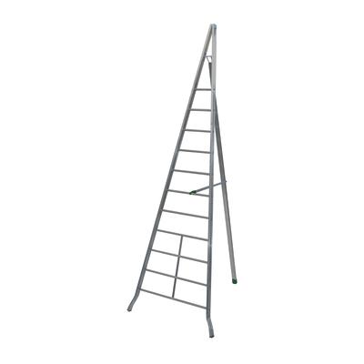 Scala agricola alluminio Facal 11 gradini, per lavori fino a 5 m