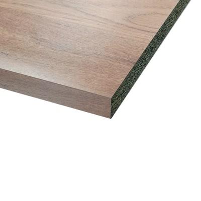 Piano cucina laminato rovere 3.8 x 60 x 246 cm