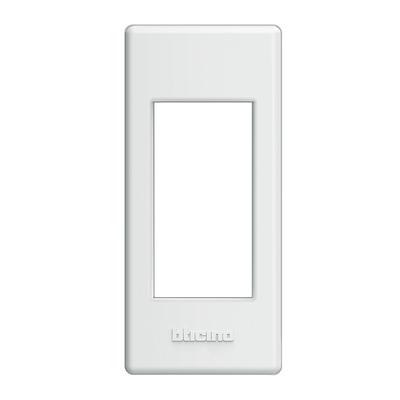 Placca 1 modulo BTicino Living light bianco
