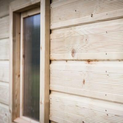casetta in legno Veronica 8,88 m², spessore 19 mm