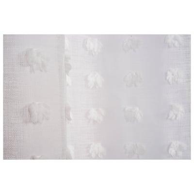 Tenda Puf bianco 140 x 280 cm