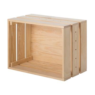 Cassetta Home Box naturale L 51,2 x P 28 x H 38,4 cm