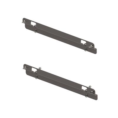 Kit fissaggio e regolazione anta per estraibile 2 ripiani da 45 cm