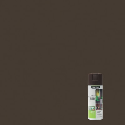 Smalto spray Deco Luxens Marrone Cioccolato 1 satinato 400 ml