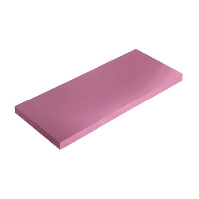 Mensola Spaceo rosa L 36 x P 15,5, sp 1,8 cm