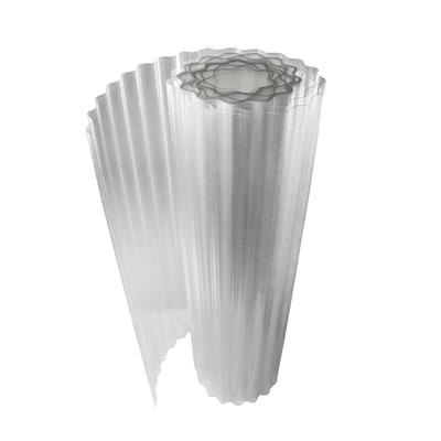 Rotolo ondulato Onduline Onduclair Plr neutro in poliestere 500 x 100  cm, spessore 1 mm