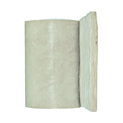 Rotolo in lana di vetro PAR Gold 4+ Isover L 0,6 m, spessore 4,5 cm