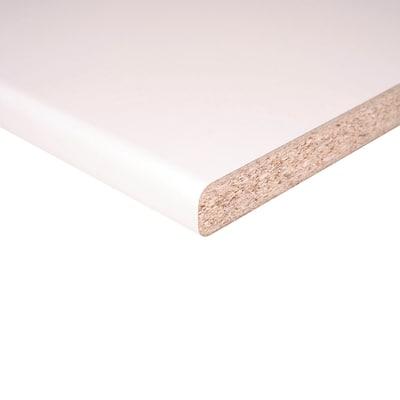 Piano cucina laminato bianco 3.8 x 60 x 304 cm