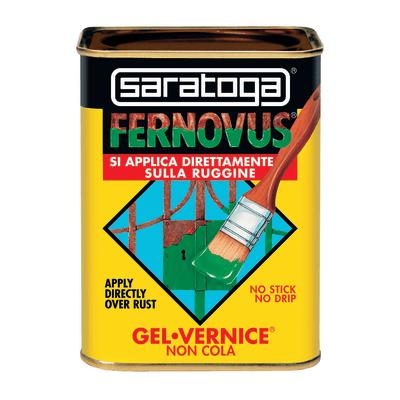 Smalto per ferro antiruggine Saratoga Fernovus Grigio grafite Ferromicaceo 0,75 L