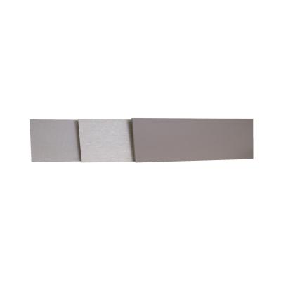 Alzatina su misura Travertino laminato grigio H 10 cm