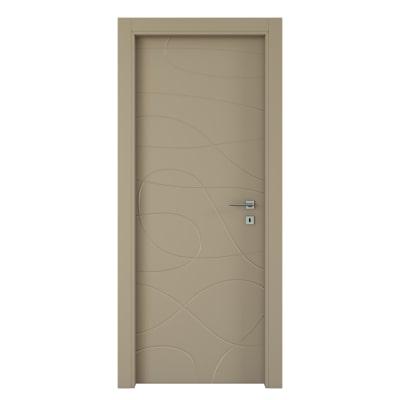 Porta da interno battente Wind taupe tortora 70 x H 210 cm sx