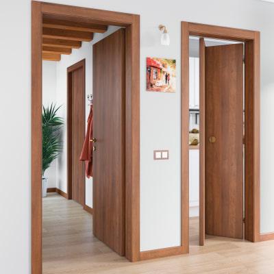 Porta da interno scorrevole Schubert 80 x H 210 cm reversibile