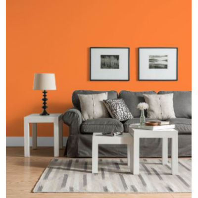 Idropittura lavabile Mano unica Arancio Arancio 3 - 2,5 L Luxens