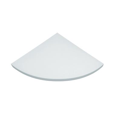 Mensola angolare Spaceo bianco L 35 x P 35, sp 1,8 cm