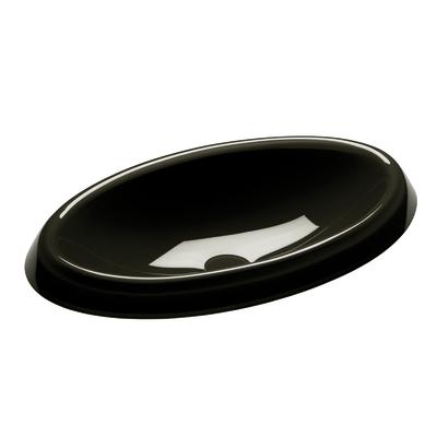 Lavabo da appoggio ovale Doggy L 63 x P 40 x H  14 cm