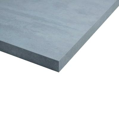 Piano cucina su misura laminato Beton grigio 6 cm