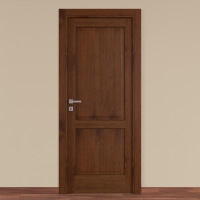 Porta da interno battente Canova rovere noce 60 x H 210 cm dx