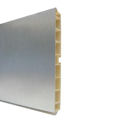 Zoccolino H 15 cm alluminio L 300 cm