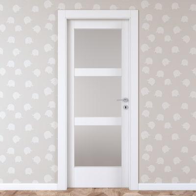 Porta da interno battente Sati 70 x H 210 cm sx