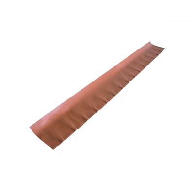Scossalina polivalente terracotta in polimglass 24 x 7  cm, spessore 1,8 mm