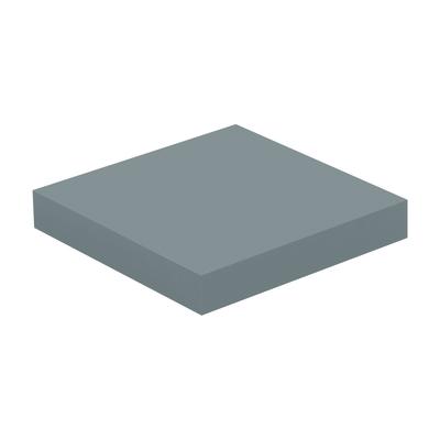 Mensola Spaceo grigio L 23 x P 23, sp 3,8 cm