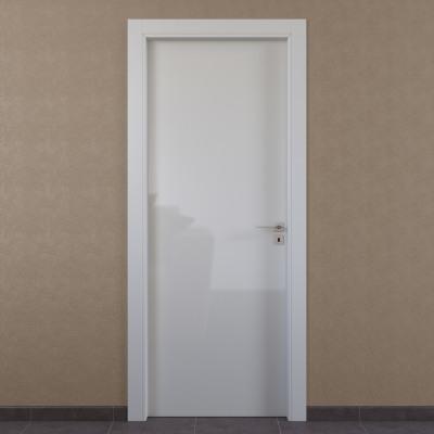 Porta da interno battente Massaua white bianco 70 x H 210 cm sx