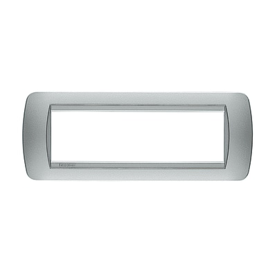 Placca 7 moduli BTicino Living International total white