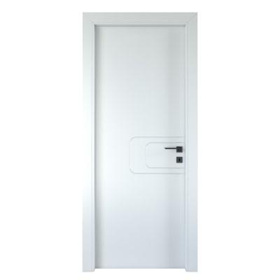 Porta da interno battente Seventy bianco 60 x H 210 cm sx